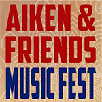 Aiken & Friends Fest Sticky Logo